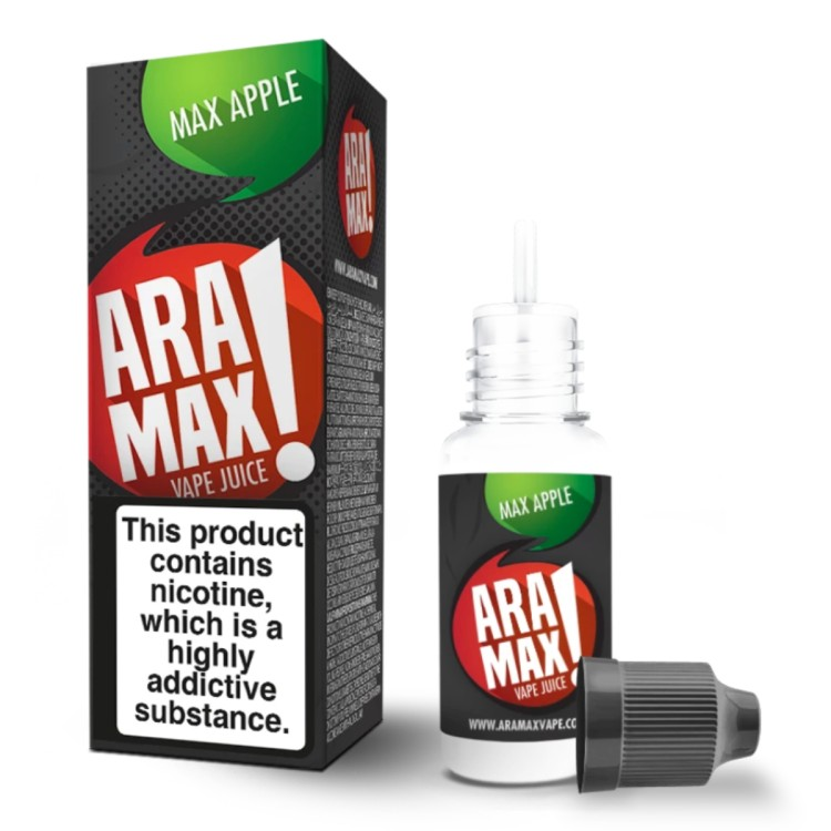 ARAMAX ELIQUID MAX APPLE 5-PACK