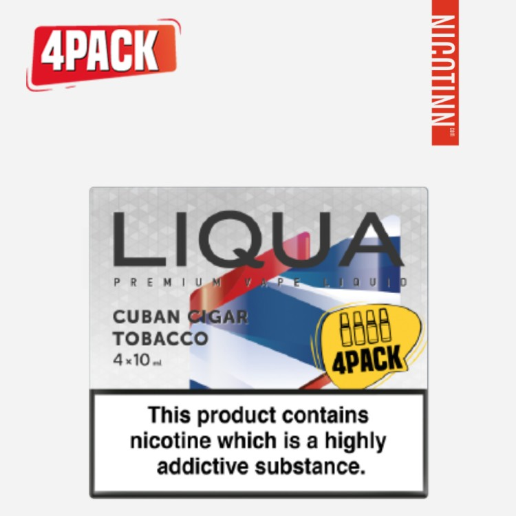 LIQUA ELEMENTS ELIQUID CIGAR 4PACK