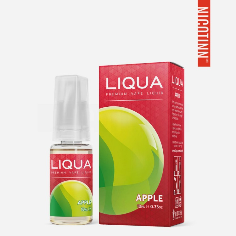 LIQUA ELEMENTS ELIQUID APPLE 5-PACK