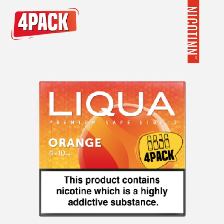 LIQUA ELEMENTS ELIQUID ORANGE 4PACK