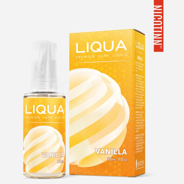 LIQUA ELEMENTS ELIQUID VANILLA 30ML/ZERO