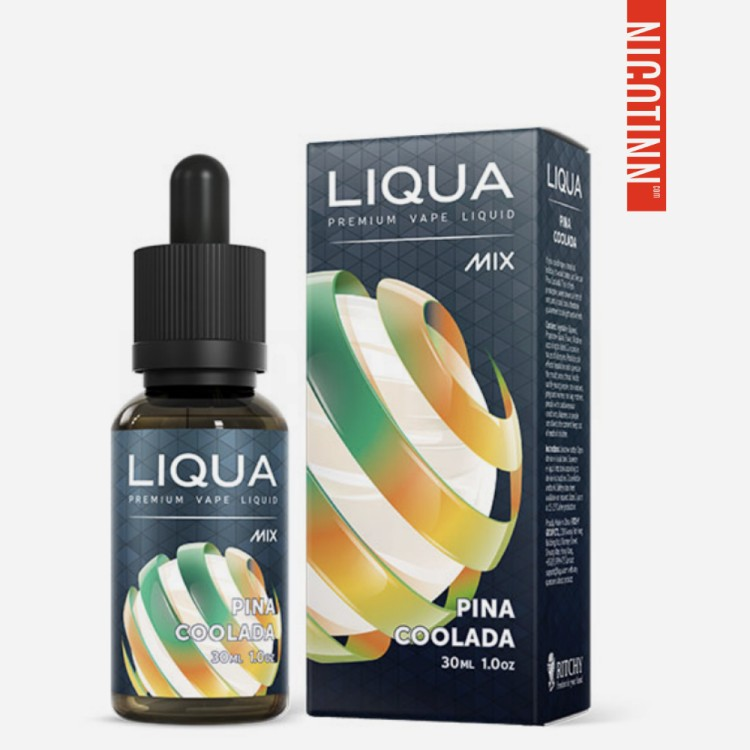 LIQUA GLASS ELIQUID PINA COOLADA 30ML