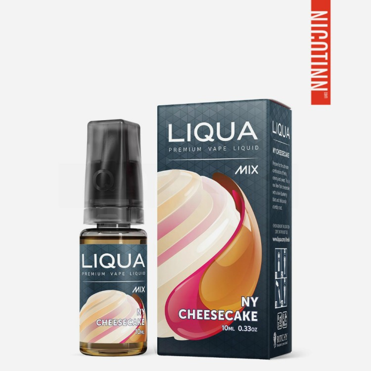 LIQUA MIX ELIQUID NY CHEESECAKE 5-PACK